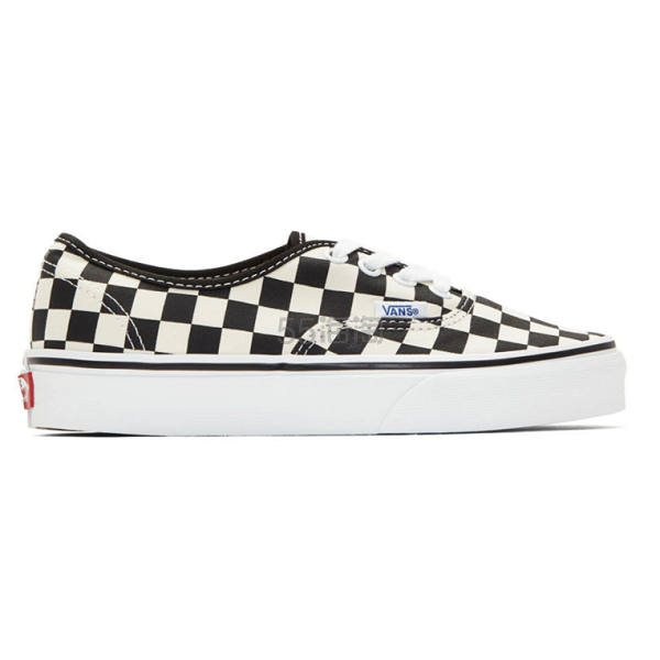 Vans 黑白棋盘格 Authentic 系带运动鞋 (约324元) - 海淘优惠海淘折扣|55海淘网