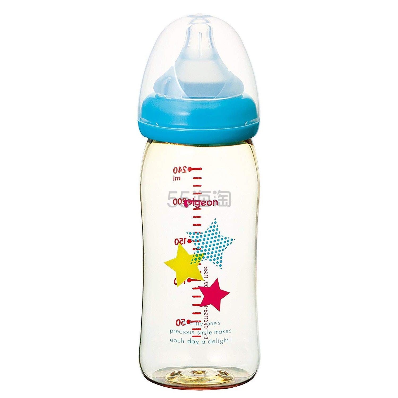 【中亚Prime会员】Pigeon 贝亲 母乳实感哺乳奶瓶 240ml 动物图案 到手价127元 - 海淘优惠海淘折扣 55海淘网