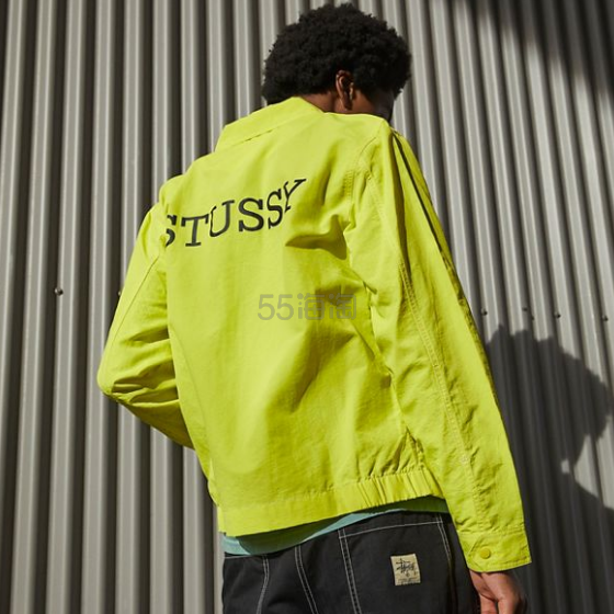 Stussy Nylon Zip Jacket 男士拉链夹克 .99(约553元) - 海淘优惠海淘折扣|55海淘网