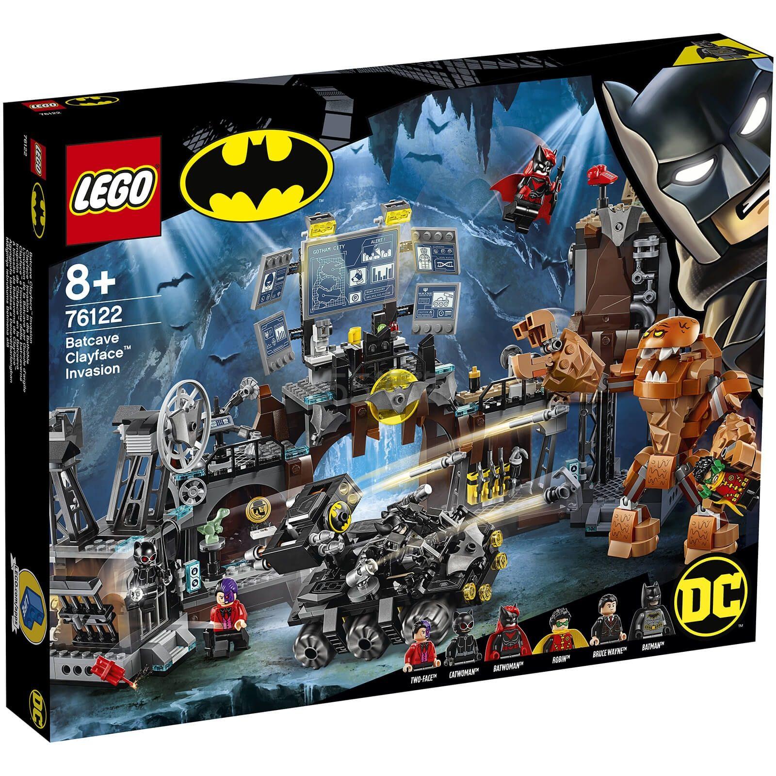 免邮!LEGO 乐高超级英雄系列 泥脸侵袭蝙蝠洞 (76122) £72.99(约642元) - 海淘优惠海淘折扣|55海淘网