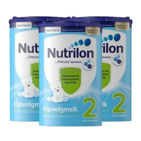 【包邮包税】Nutrilon 牛栏标准配方奶粉 2段 800g*3罐 €54.97(约430元) - 海淘优惠海淘折扣|55海淘网