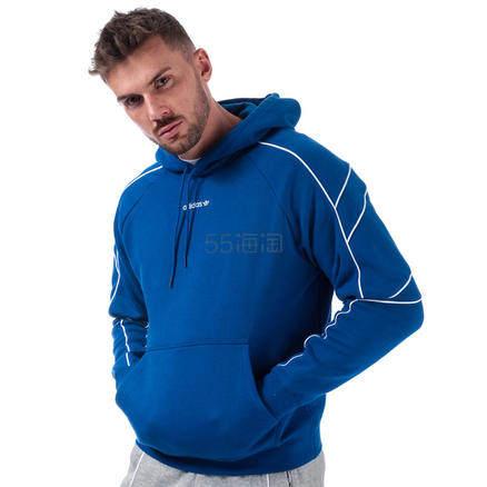 【直邮中国】Adidas 阿迪达斯 Originals EQT Outline Hoody 男士套头衫 £42.99(约378元) - 海淘优惠海淘折扣|55海淘网