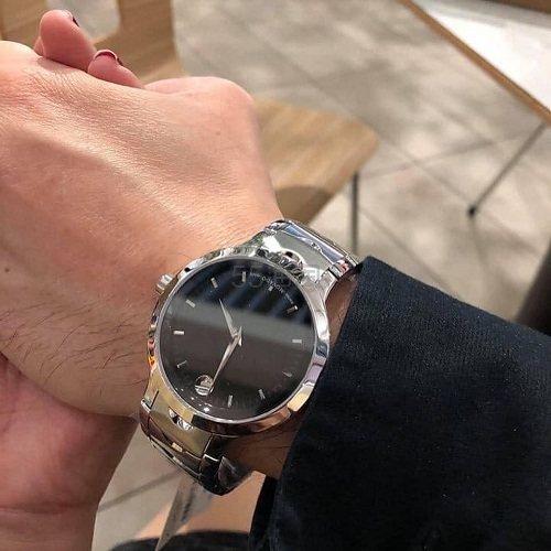 Movado 摩凡陀 Luno 系列 银黑色男士时尚腕表 0607041 9.99(约2,003元) - 海淘优惠海淘折扣|55海淘网