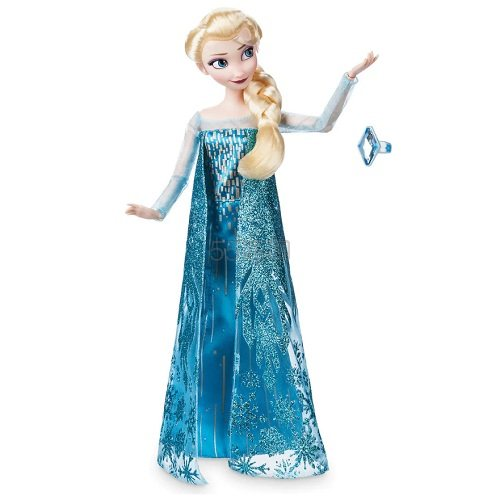 Disney 迪士尼 冰雪奇缘 Elsa 艾莎经典娃娃+戒指