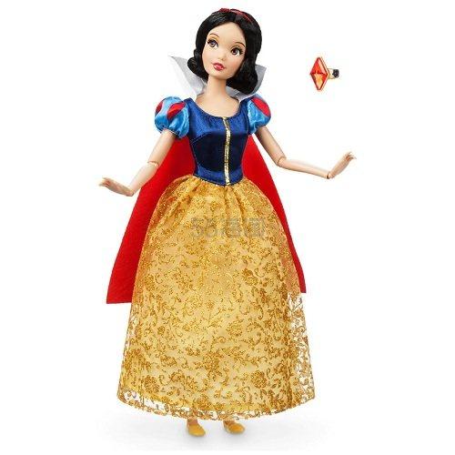 2件及以上每件!Disney 迪士尼 白雪公主经典娃娃+戒指 (约83元) - 海淘优惠海淘折扣 55海淘网