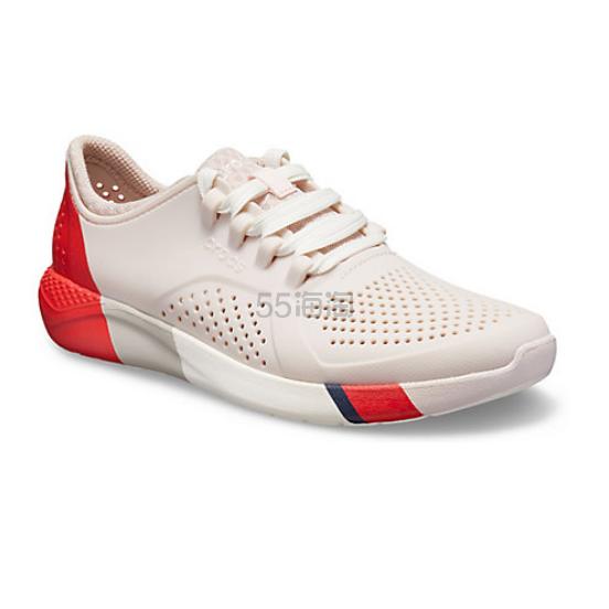 Crocs 卡骆驰 LiteRid Colorblock Pacer 女士塑料运动鞋 .99(约374元) - 海淘优惠海淘折扣|55海淘网