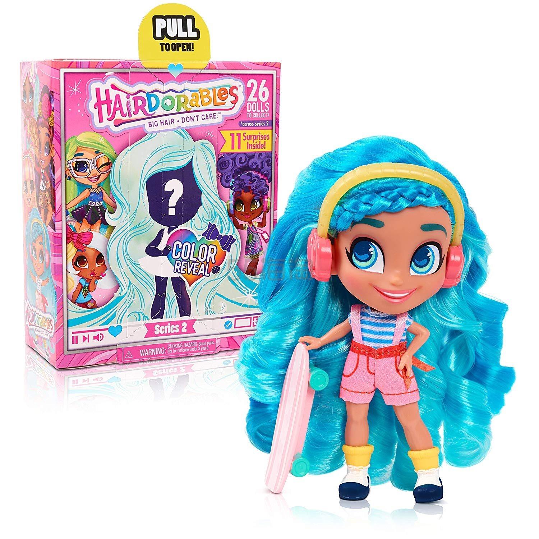 【中亚Prime会员】Hairdorables 美发娃娃惊喜玩偶 系列二