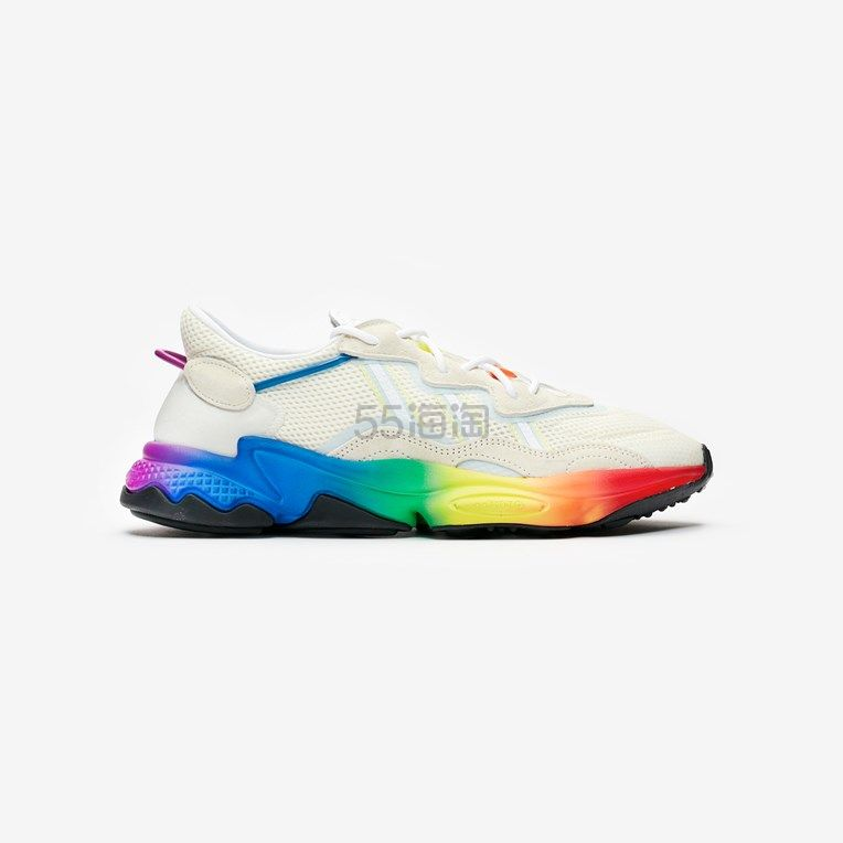 【码全】adidas Originals Ozweego Pride 彩虹老爹鞋 .17(约690元) - 海淘优惠海淘折扣|55海淘网