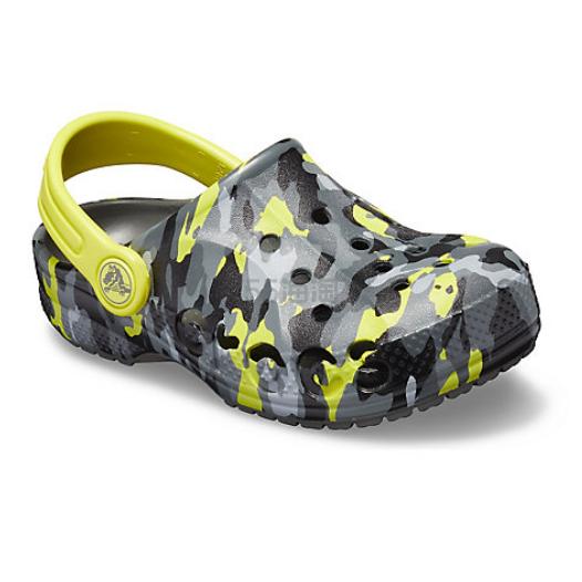 Crocs 卡骆驰 Baya Seasonal Graphic Clog 儿童迷彩洞洞鞋 .99(约159元) - 海淘优惠海淘折扣|55海淘网