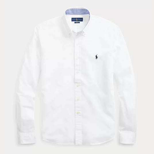 Ralph Lauren Slim Fit Poplin Shirt 修身男士衬衫
