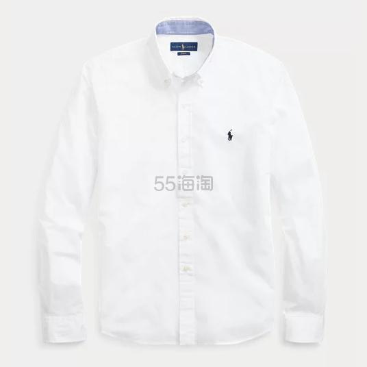 Ralph Lauren Slim Fit Poplin Shirt 修身男士衬衫 .49(约412元) - 海淘优惠海淘折扣|55海淘网