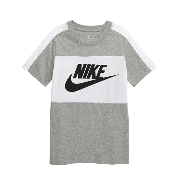 NIKE Sportswear Colorblock Shirt 童款T恤衫