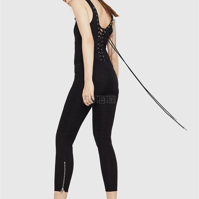 Diesel 绑带修身牛仔吊带连体裤 3.6(约1,682元) - 海淘优惠海淘折扣|55海淘网