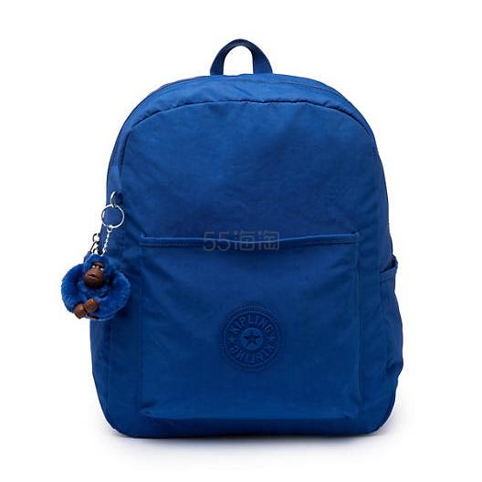 超便宜!Kipling BENNETT 宝蓝色双肩包 .49(约260元) - 海淘优惠海淘折扣|55海淘网