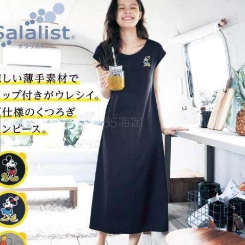 Disney 米奇 带罩杯透气亲肤连衣裙 3色 S-3XL 2,091日元(约133元) - 海淘优惠海淘折扣|55海淘网