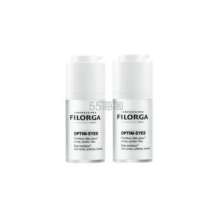 【包邮包税套装】Filorga 菲洛嘉360雕塑眼霜 15ml*2件 .2(约464元) - 海淘优惠海淘折扣|55海淘网