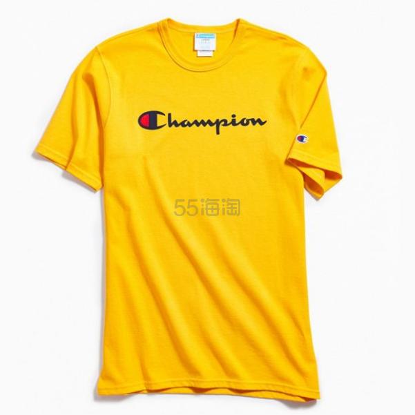 Champion 冠军 Script Logo Ink 短袖T恤 .99(约138元) - 海淘优惠海淘折扣|55海淘网