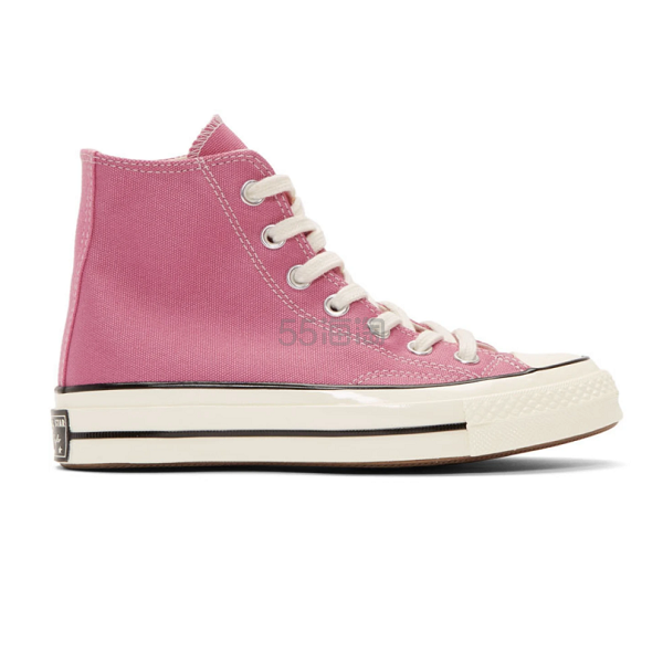 Converse Chuck 70 粉色高帮帆布鞋