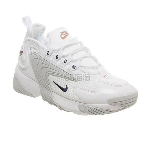 Nike Zoom 2k 全白运动鞋 1(约693元) - 海淘优惠海淘折扣|55海淘网