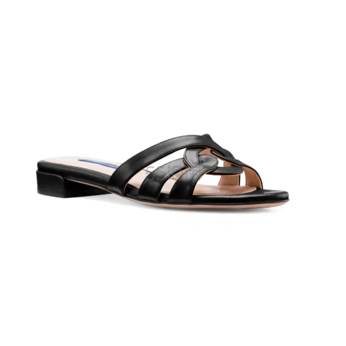 Stuart Weitzman 黑色凉鞋 3(约1,120元) - 海淘优惠海淘折扣 55海淘网