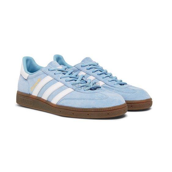ADIDAS ORIGINALS Handball Spezial 天蓝色麂皮运动鞋 £45(约394元) - 海淘优惠海淘折扣|55海淘网