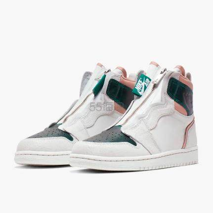 乔丹 Air Jordan 1 High Zip 女子篮球鞋 4.97(约721元) - 海淘优惠海淘折扣|55海淘网