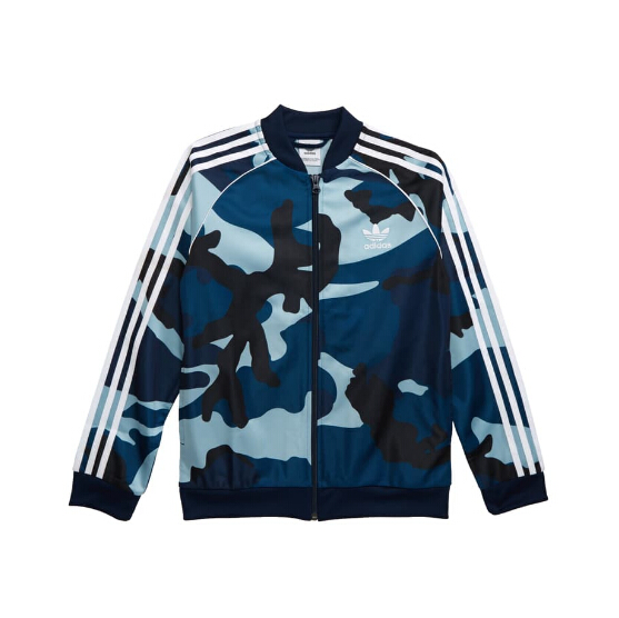 ADIDAS ORIGINALS Camo Track Jacket 童款迷彩外套