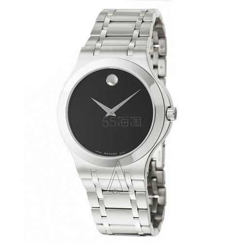 好价!Movado 摩凡陀 Collection 系列 银黑色男士时尚腕表 0606276 9.99(约1,856元) - 海淘优惠海淘折扣|55海淘网