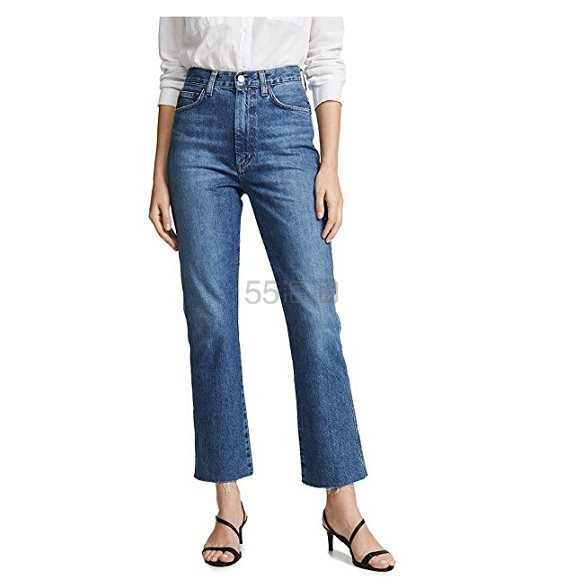 AGOLDE Pinch Waist High Rise Kick Jeans  高腰牛仔裤 8(约1,225元) - 海淘优惠海淘折扣|55海淘网