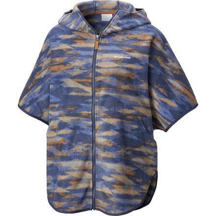 3折!Columbia 哥伦比亚 Benton Springs Poncho 女款时尚保暖抓绒衣 .96(约127元) - 海淘优惠海淘折扣 55海淘网