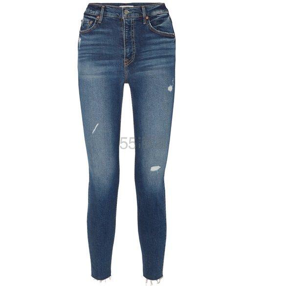 GRLFRND Kendall 仿旧高腰紧身牛仔裤 £141(约1,234元) - 海淘优惠海淘折扣|55海淘网