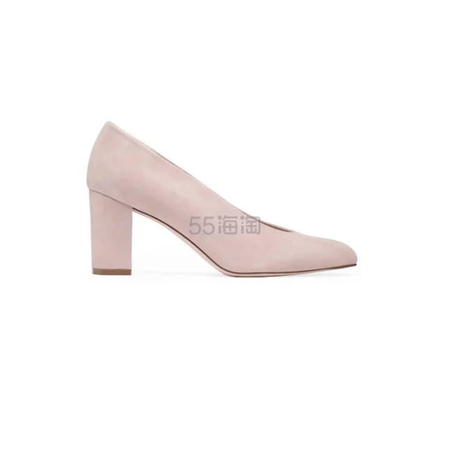 Stuart Weitzman 粉色麂皮高跟鞋 8(约1,362元) - 海淘优惠海淘折扣|55海淘网
