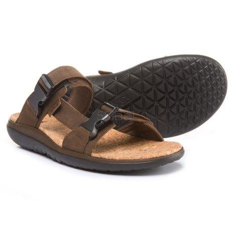 码全!Teva Terra-Float Slide Lux 旗舰款男士软木沙滩凉拖鞋 (约268元) - 海淘优惠海淘折扣|55海淘网