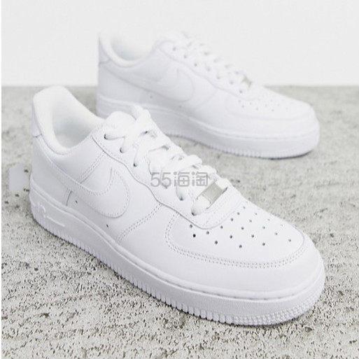 NIKE Air Force 1 白色运动鞋 ¥507 - 海淘优惠海淘折扣|55海淘网