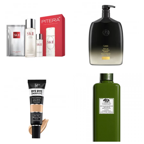 B-glowing:it cosmetics、SKII、oribe 等热卖彩妆护肤