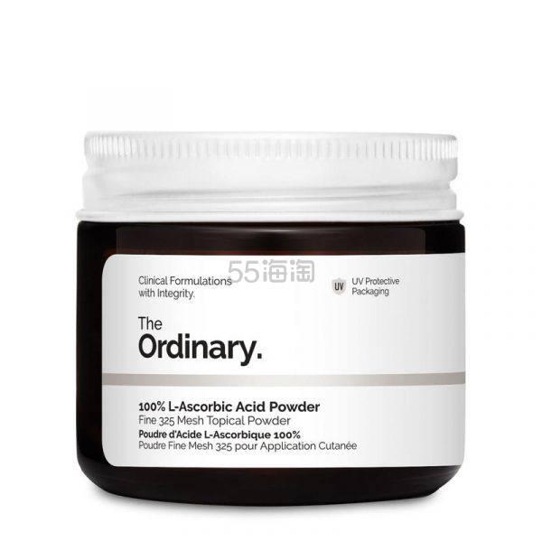 【极速香港仓】The Ordinary 100%抗坏血酸VC粉 20g £4.9(约42元) - 海淘优惠海淘折扣|55海淘网