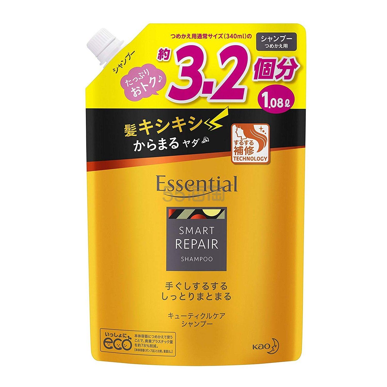 【中亚Prime会员】kao 花王 Essential 智能修护洗发水 1080ml 替换装 到手价108元 - 海淘优惠海淘折扣|55海淘网
