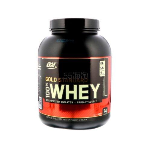 【1件0税免邮】Optimum Nutrition 100% 乳清蛋白 浓郁巧克力味 2.27kg .62(约410元) - 海淘优惠海淘折扣|55海淘网