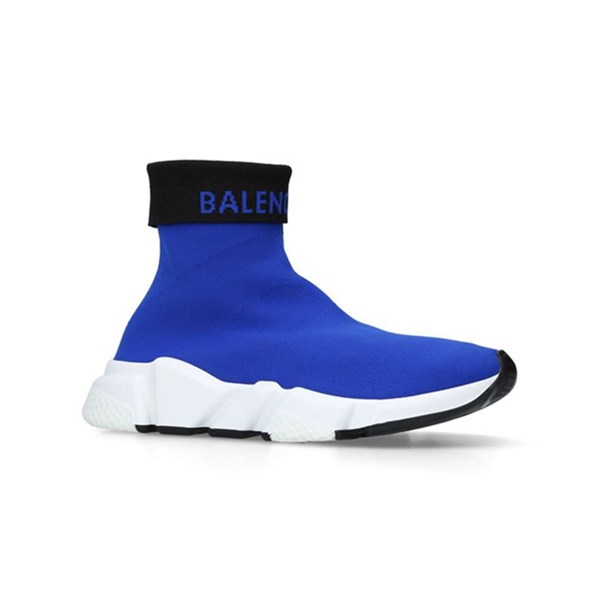 Balenciaga 巴黎世家 Speed High-Top 女士袜子鞋