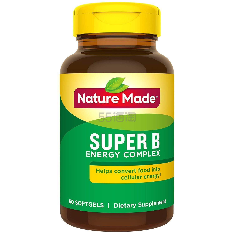【中亚Prime会员】Nature Made B族复合维生素胶囊 60粒 到手价71元 - 海淘优惠海淘折扣 55海淘网