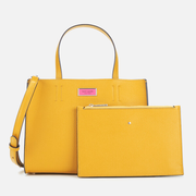 Kate Spade New York Sam 亮黄色托特包