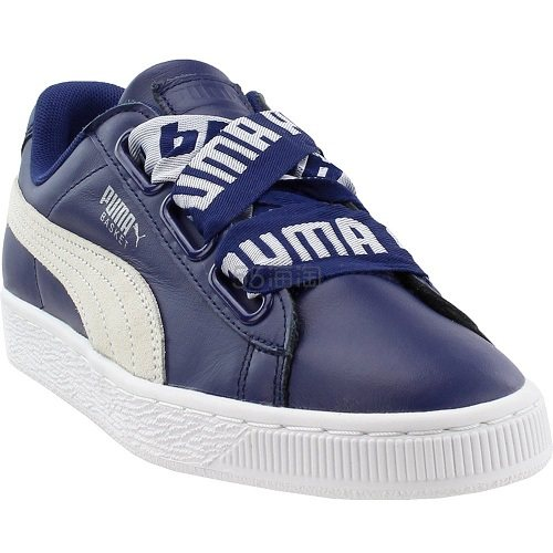 Puma 彪马 Basket Heart DE 藏蓝色运动鞋