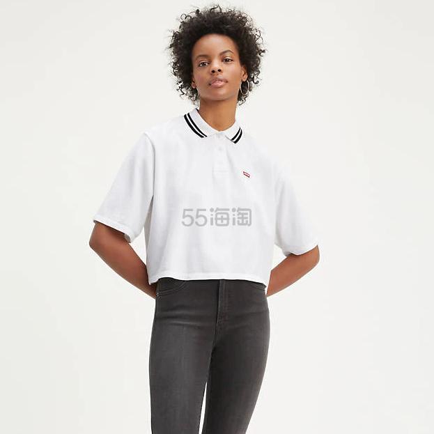 Levis 女士宽松短袖 Polo 衫短袖 .79(约74元) - 海淘优惠海淘折扣|55海淘网