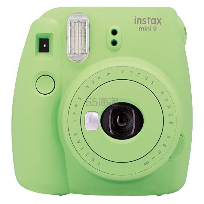 蓝色/绿色好价!【中亚Prime会员】Fujifilm 富士 Instax Mini 9 拍立得相机 到手价396元 - 海淘优惠海淘折扣|55海淘网