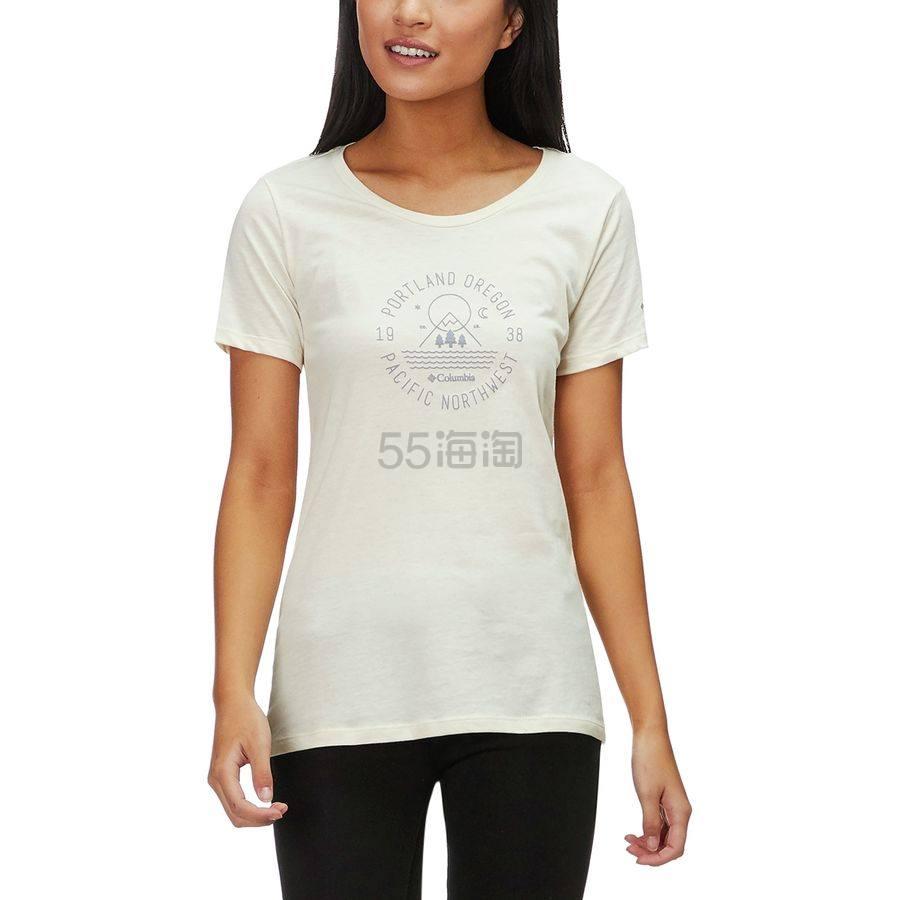 仅限L码!Columbia 哥伦比亚 PNW 女士短袖T恤 .97(约82元) - 海淘优惠海淘折扣|55海淘网