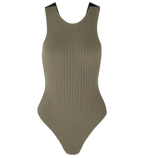 THE RANGE 帆布边饰罗纹针织连体紧身衣 £61.78(约527元) - 海淘优惠海淘折扣|55海淘网
