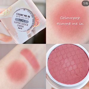 Colourpop 土豆泥腮红 count-me-in