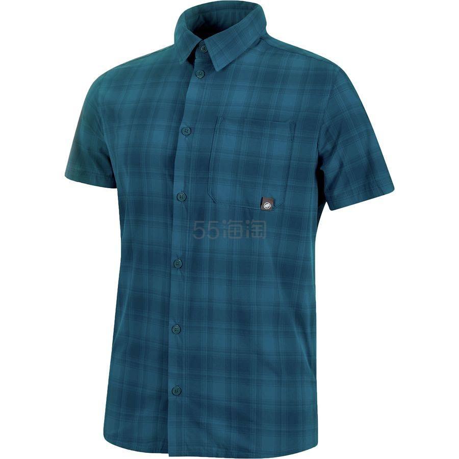 码全双色可选~Mammut 猛犸象 Trovat Trail 男士短袖衬衫 .98(约309元) - 海淘优惠海淘折扣|55海淘网
