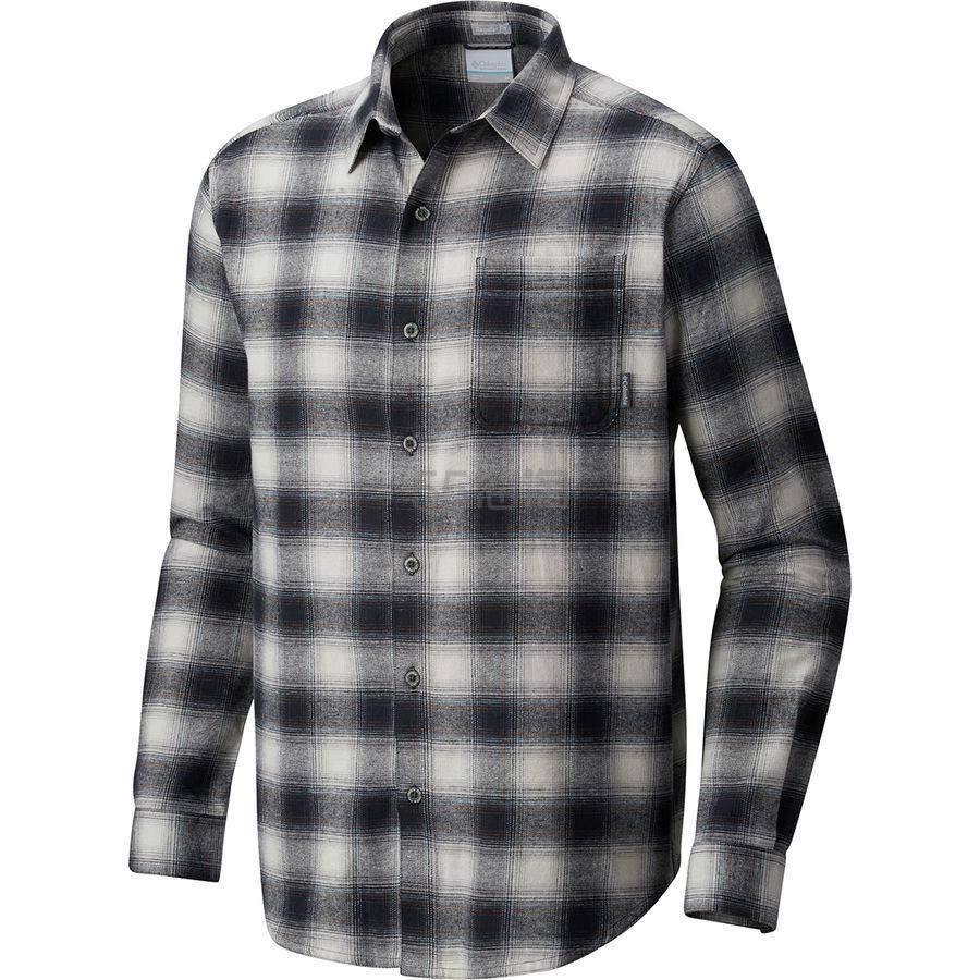 5折!Columbia 哥伦比亚 Boulder Ridge 男士法兰绒格纹长袖衬衫 .96(约172元) - 海淘优惠海淘折扣|55海淘网