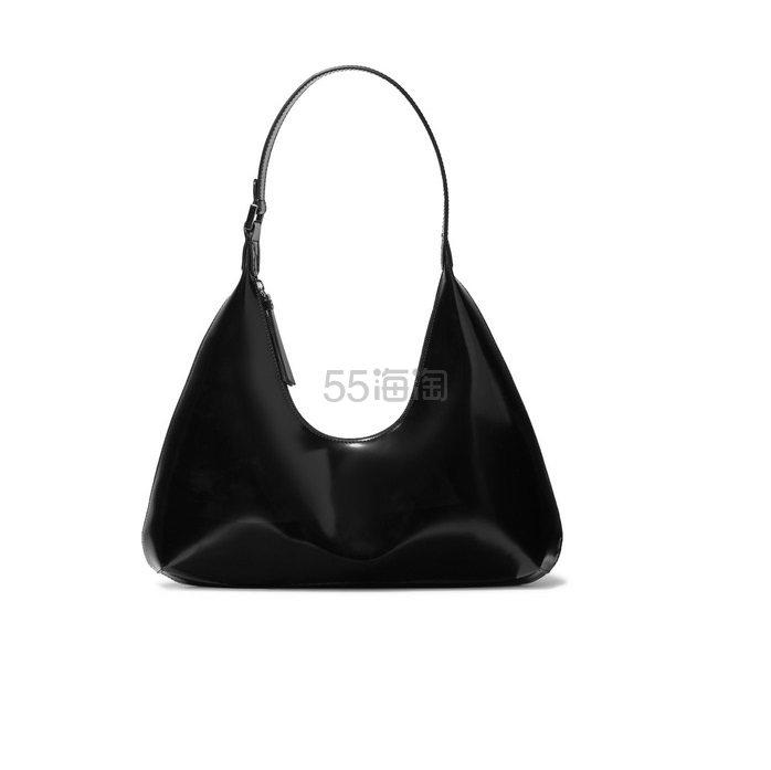 BY FAR Amber 光滑漆皮单肩包 £515(约4,422元) - 海淘优惠海淘折扣|55海淘网